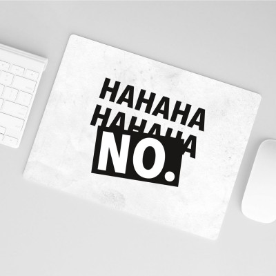 Mousepad Wordporn - Hahaha No.