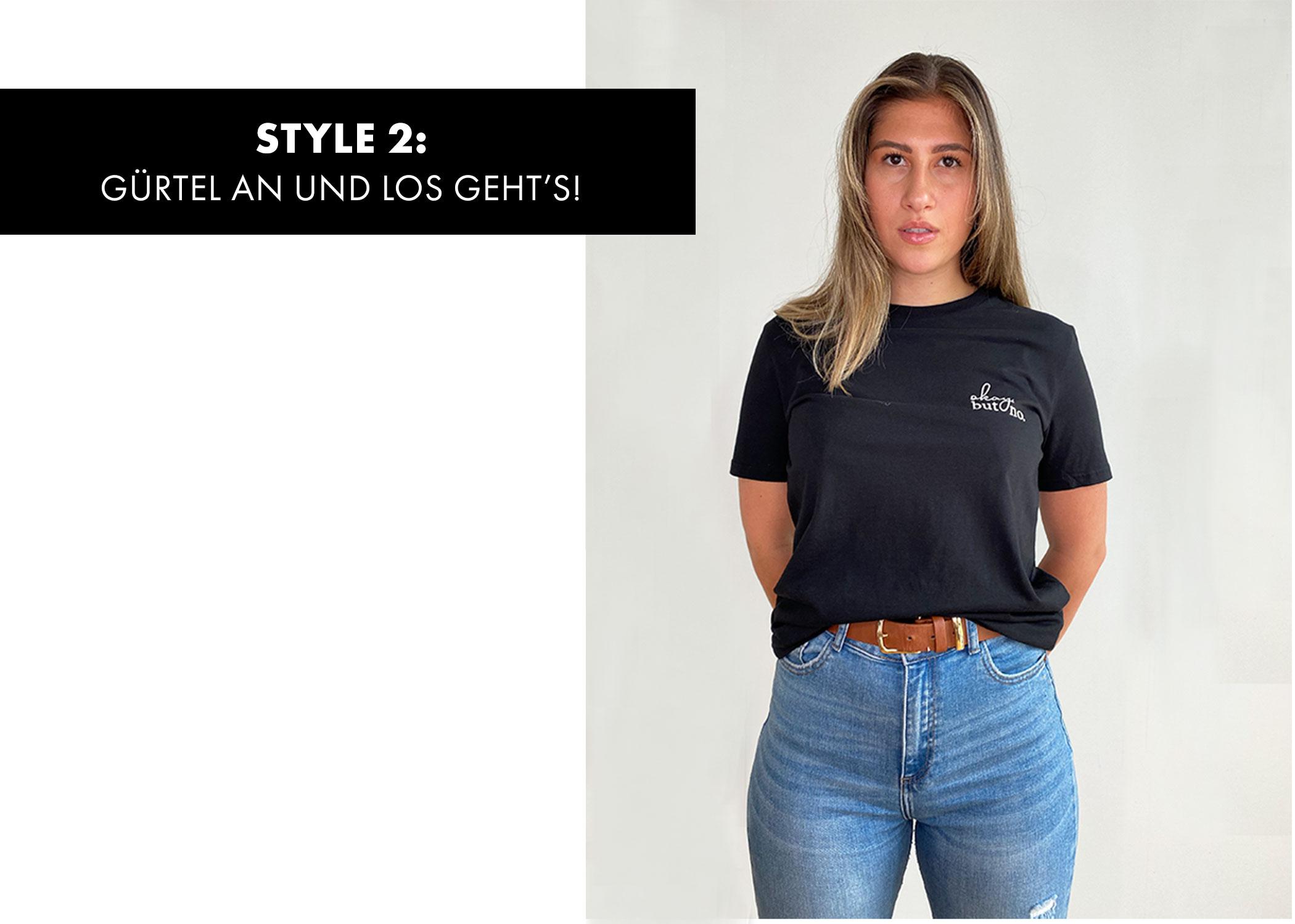 T-Shirt stylen