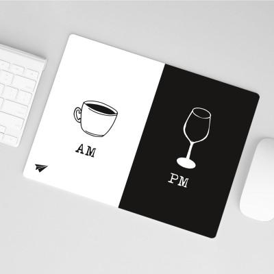 AM PM - Mousepad von lieblingskollegen