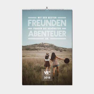 Lieblingsmensch / 2018 - Monatswandkalender