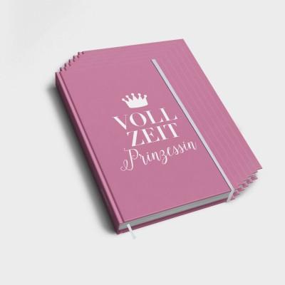 Vollzeitprinzessin - 6er Notizbuch-Set