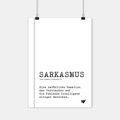 Poster Lieblingskollegen - Sarkasmus