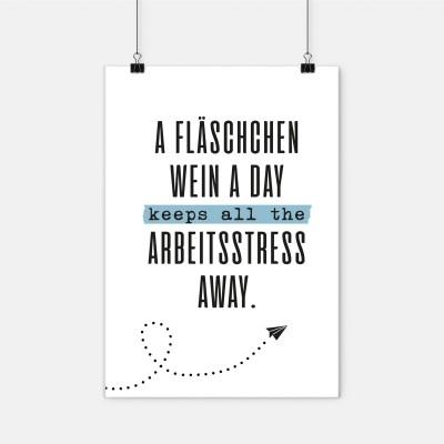 Fläschchen a day - Poster