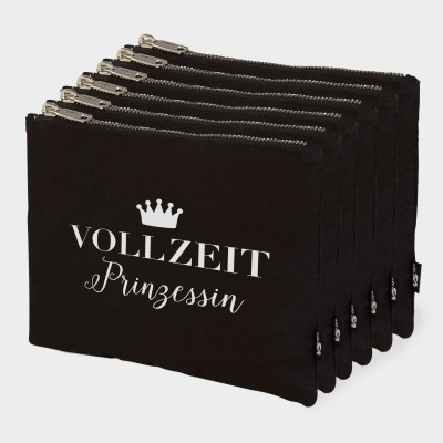 Vollzeitprinzessin - 6er Zip Bag-Set
