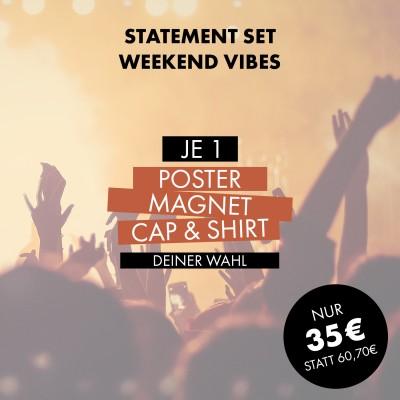 Statement Set: Weekend Vibes