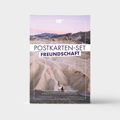 Postkartenset Freundschaft - 20 Postkarten zum Thema Freundschaft