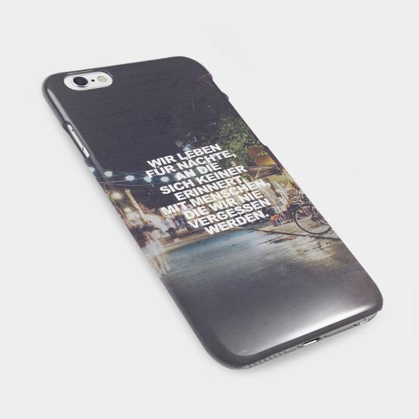 Wir leben für Nächte - Handycover