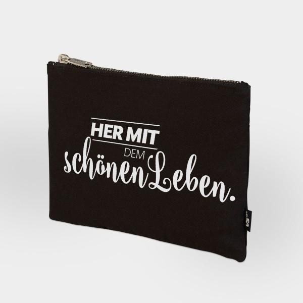 Her mit dem schönen Leben - Zip Bag