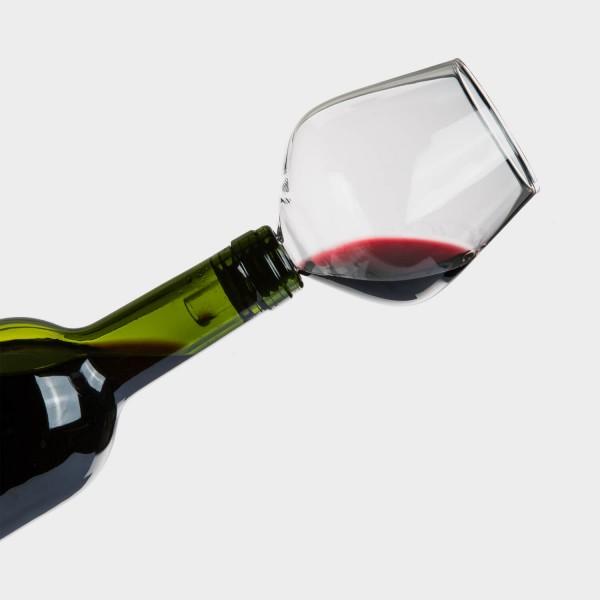 Weinflaschen-Glas
