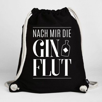 """Nach mir die Sinnflut"" Visualstatements Gymbeutel"