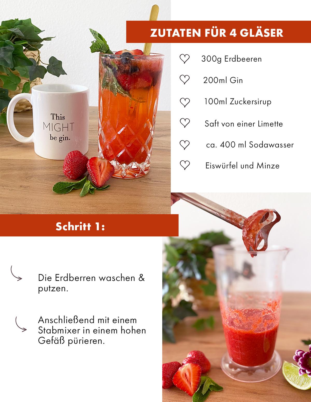 Rezept Gin-Cocktail