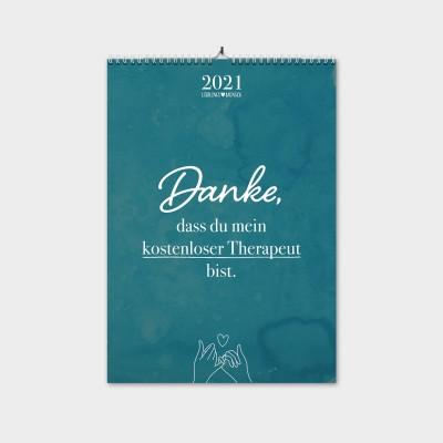 Monatswandkalender LIEBLINGSMENSCH - Freundschaft
