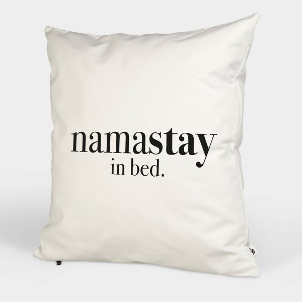 Namastay in Bed - Kissenbezug