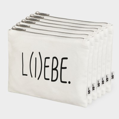 L(i)ebe - 6er Zip Bag-Set