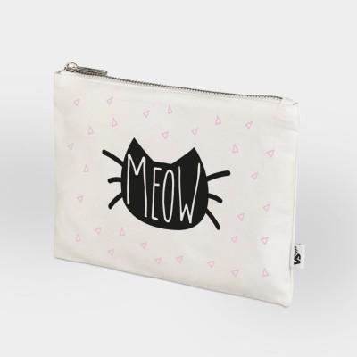 Geschenke für Katzenfans: Kleine Tasche mit Katzenmotiv
