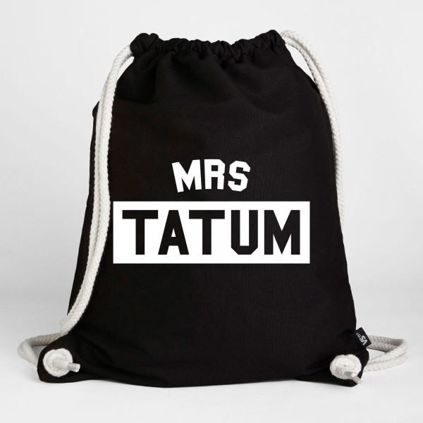 Mrs. Tatum - Turnbeutel