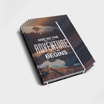 The adventure begins - 6er Notizbuch-Set