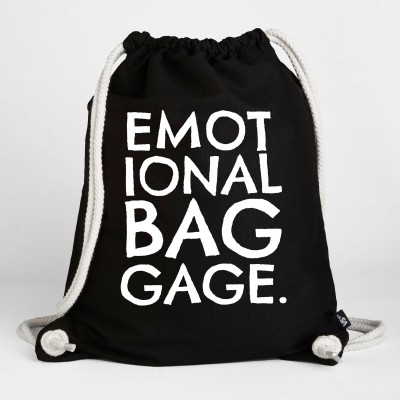 Emotional baggage - Turnbeutel