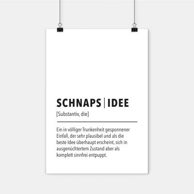 Schnapsidee - Poster