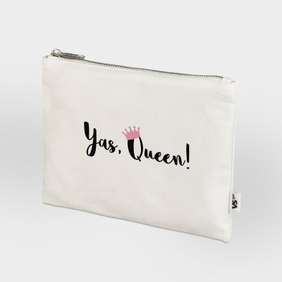 Zip Bag Vollzeitprinzessin - Yas, Queen