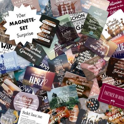 10er Magnet-Set
