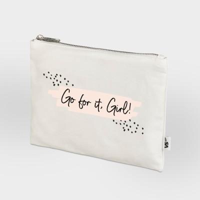 Zip Bag Vollzeitprinzessin - Go for it, Girl