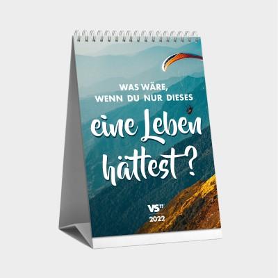 Monatstischkalender 2022 - Kalender 2022 mit Sprüchen - Visual Statements