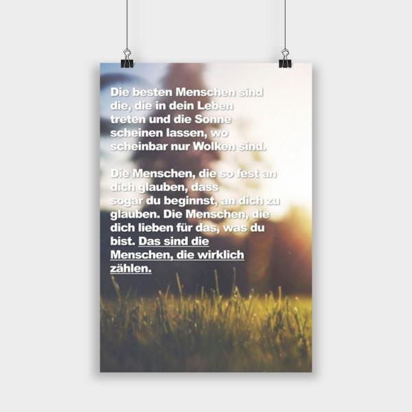 Die besten Menschen - Poster