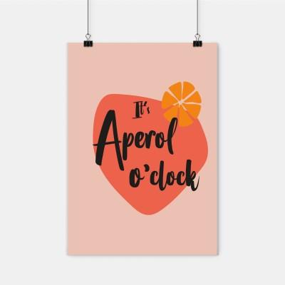Aperol o'clock - Poster