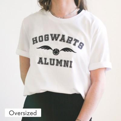 Oversized T-Shirt - Hogwarts Alumni