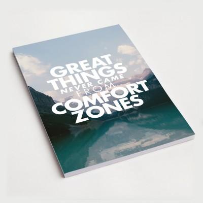 Great things - Notizblock
