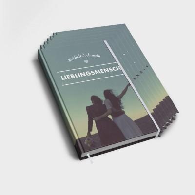 Lieblingsmensch - 6er Notizbuch-Set
