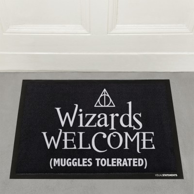 Wizards Welcome (Muggles tolerated) - Fußmatte