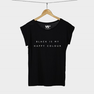 Black is my happy colour - Shirt