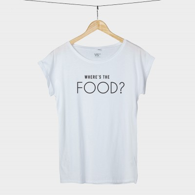 Where's the food? - Shirt