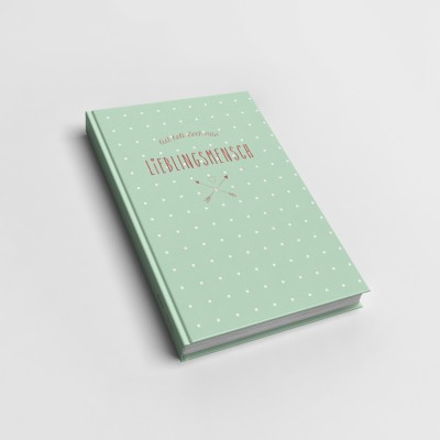 Bist halt doch mein Lieblingsmensch - Notizbuch