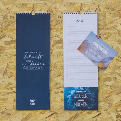 """Postkartenkalender 2021 - Kalender von VS"""" mit Postkarten zum Abreißen"""