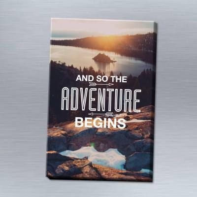 The adventure begins - 6er Magnet-Set