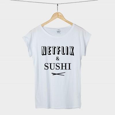 Netflix & Sushi - Shirt