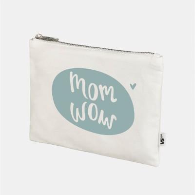 Mom Wow - Kleines Mäppchen für die Wickeltasche