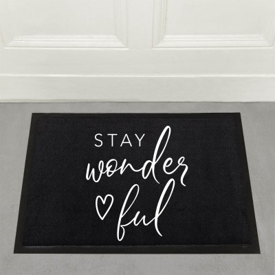 Stay wonderful - Fußmatte
