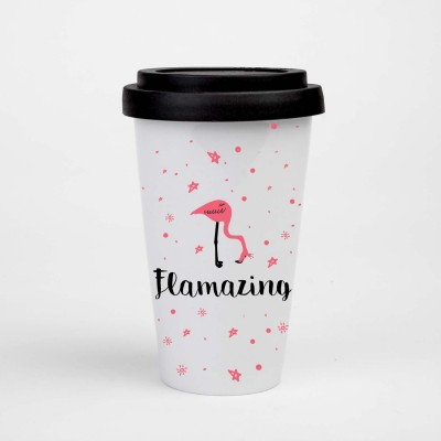 "Visualstatements To-Go-Becher ""Flamazing"""