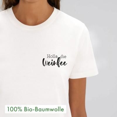 Holla die Weinfee - Unisex - T-Shirt