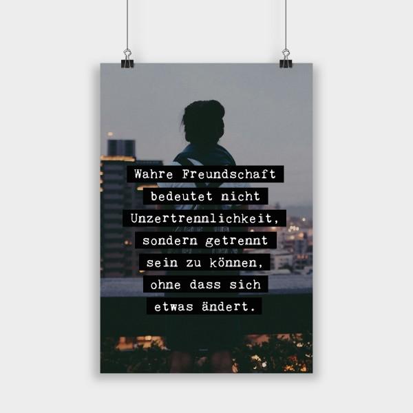 Wahre Freundschaft - Poster