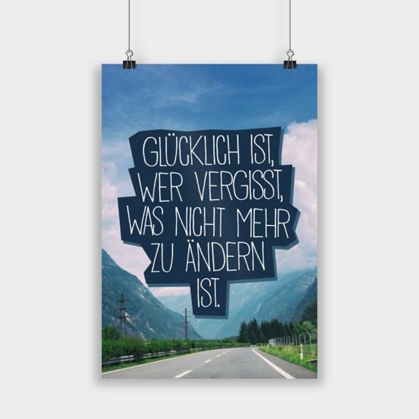 Glücklich ist - Poster