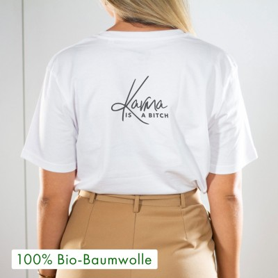 Karma is a bitch - T-Shirt zum Release von Ana Kohlers Single Karma is a bitch