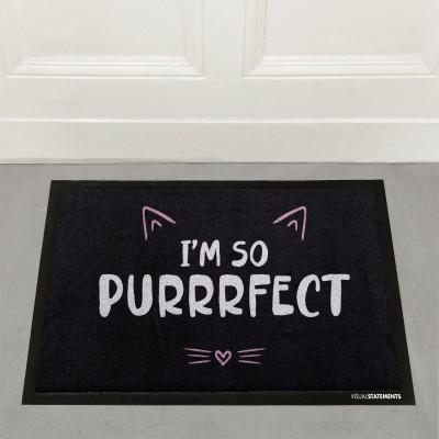 I'm so purrrfect - Fußmatte