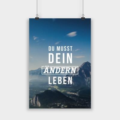 Dein Ändern - Poster