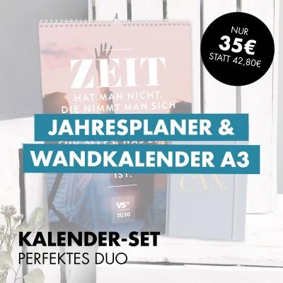 Kalender-Set: Perfektes Duo