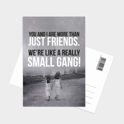 You and I - Postkarte